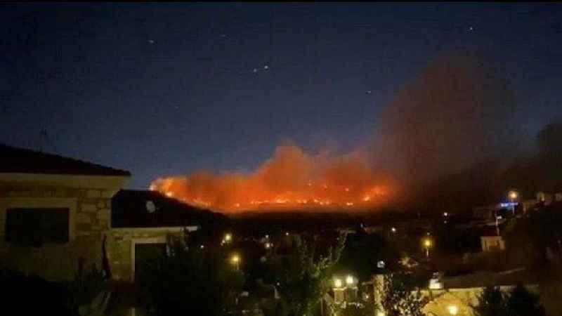 Son dakika! İzmir Foça'da orman yangını!