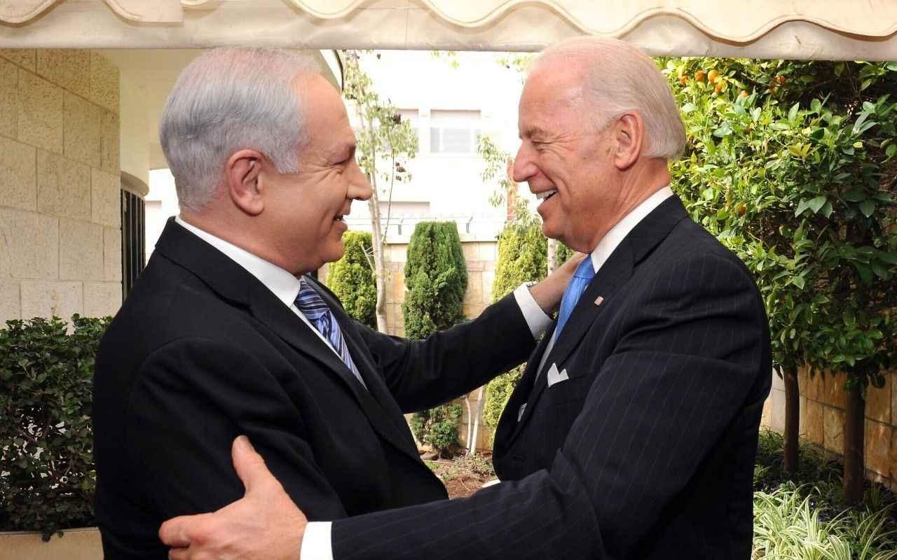 Siyonist Netanyahu, Biden'e göz kırptı! Trump'a teşekkür - Dış haberler