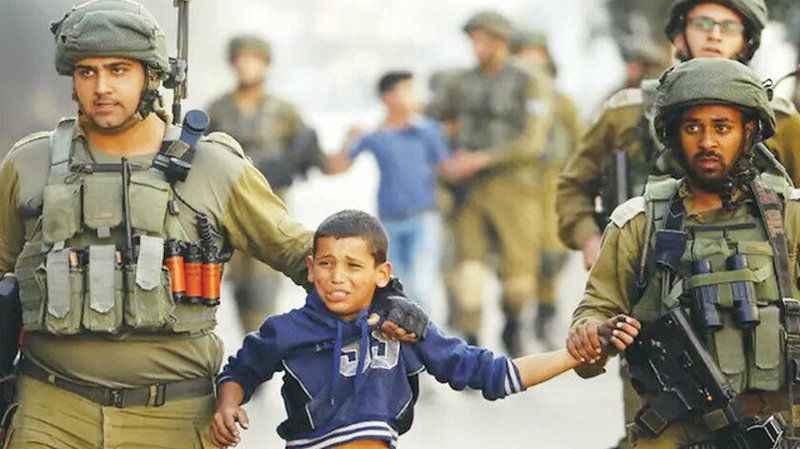 İşgalci İsrail 466 Filistinliyi göz altına aldı!