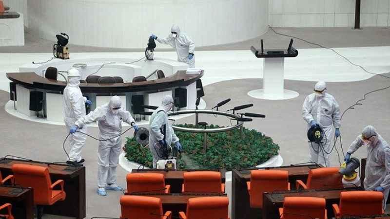 Mecliste koronavirüs vakaların artış!