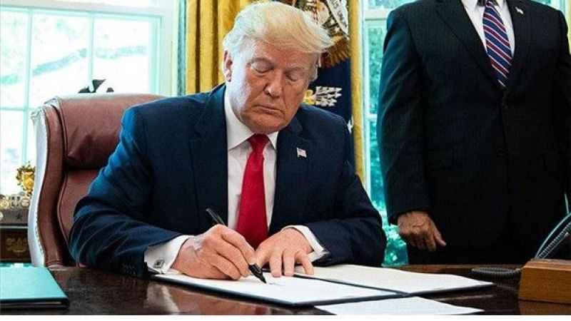 Trump giderayak imzaladı! 31 firma kara listeye alındı
