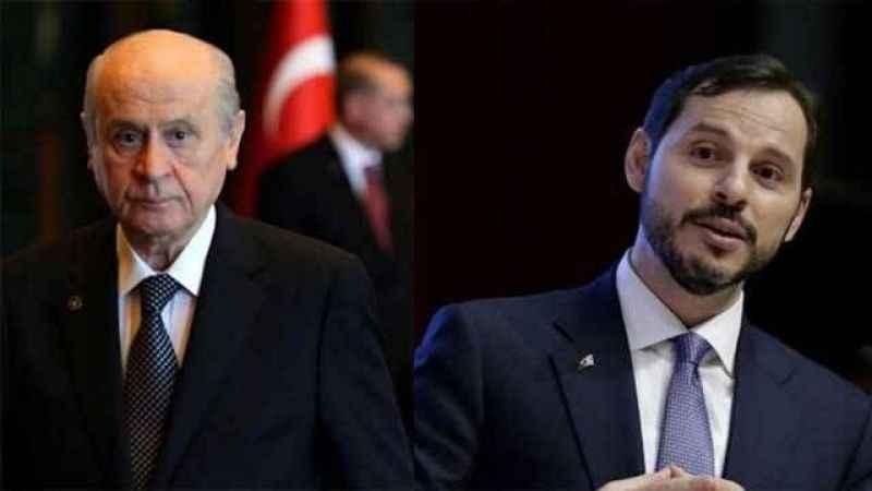 """Çarpıcı iddia: """"Berat Albayrak'ın istifasını Devlet Bahçeli istemiş"""""""