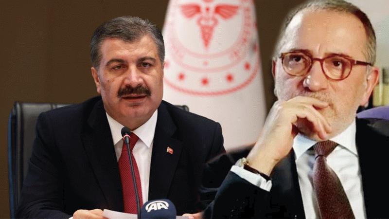 """Fatih Altaylı, Bakan Koca'ya yüklendi: """"Yanlış yaptı"""""""