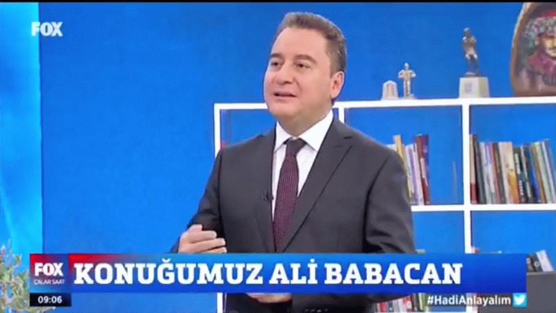 Canlı yayında duyurdu! Erdoğan'ın o teklifini Ali Babacan kabul etmedi