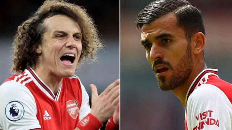 Arsenal'de idman karıştı! David Luiz ile Ceballos yumruklaştı