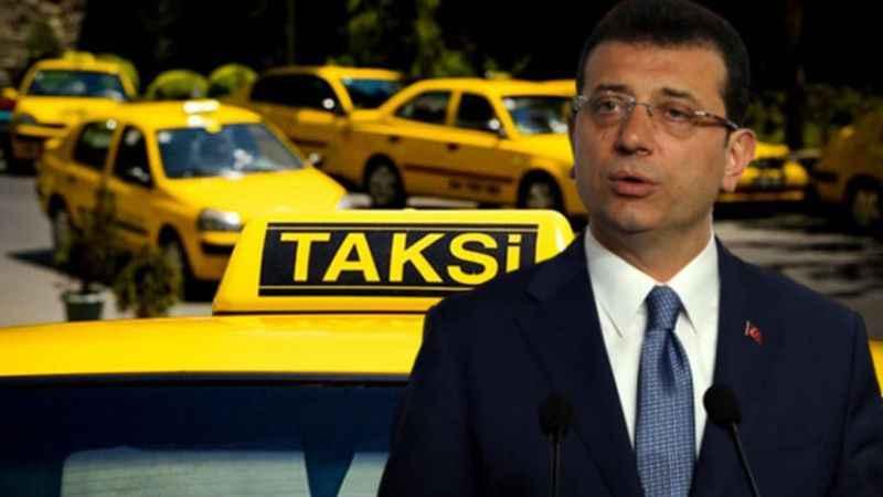 Ekrem İmamoğlu'ndan taksi düzenlemesi paylaşımı!