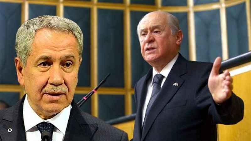 Arınç'ın görevden alınmasını Bahçeli mi istedi? MHP'li isim açıkladı