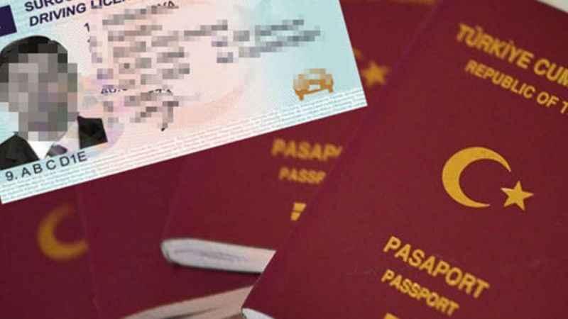 2021'de ehliyet ve pasaport ücretleri belli oldu