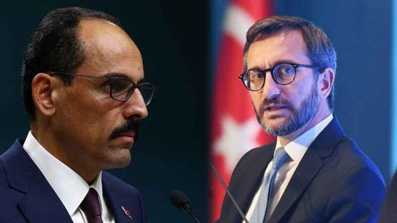 İbrahim Kalın ve Fahrettin Altun'dan CHP'li Başarır'ın sözlerine tepki