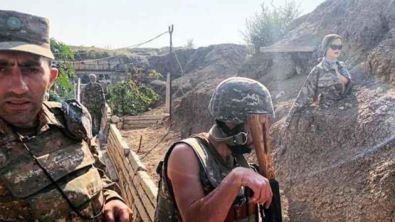 Ermeni askeri: Azerbaycan askerlerinin baskınları Azrail'in gelişi gibi