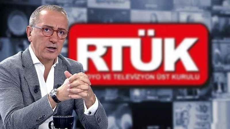 """Fatih Altaylı'dan RTÜK'e sert tepki: """"RTÜK, FETÖ'cüdür..."""""""