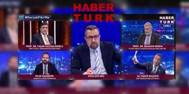 Habertürk TV'den RTÜK'e ceza tepkisi: İnfaz kararıdır, hukuka aykırı