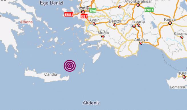 Son depremler: Muğla Datça açıklarında korkutan deprem