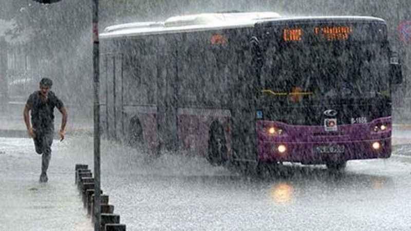 İstanbul saatlik hava durumu! Meteoroloji'den sağanak uyarısı