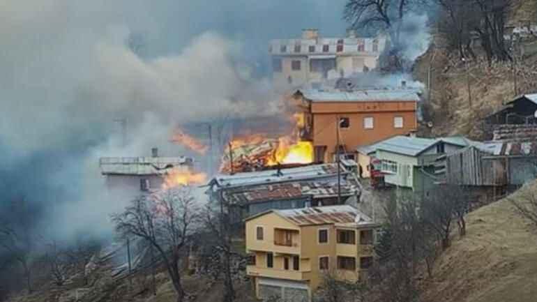 Rize'deki yangının çıkış sebebi belli oldu!