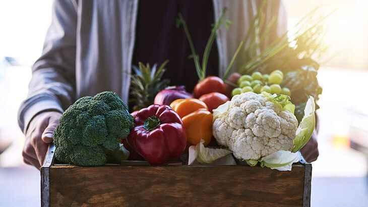 Sağlık deposu olan beş sebze ve beş meyve!
