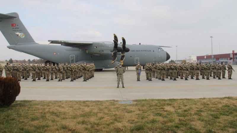 Türk askeri Azerbaycan'da göreve başladı
