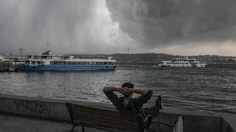 İstanbul saatlik hava durumu! İstanbul'a yağmur uyarısı geldi