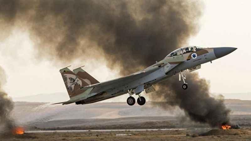 Siyonist İsrail, Suriye'ye saldırdı! Deyrizor'a 30 hava saldırısı