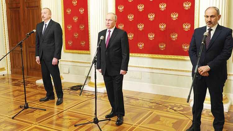 Paşinyan, Moskova'daki üçlü zirve sonrasında kabineyi topladı