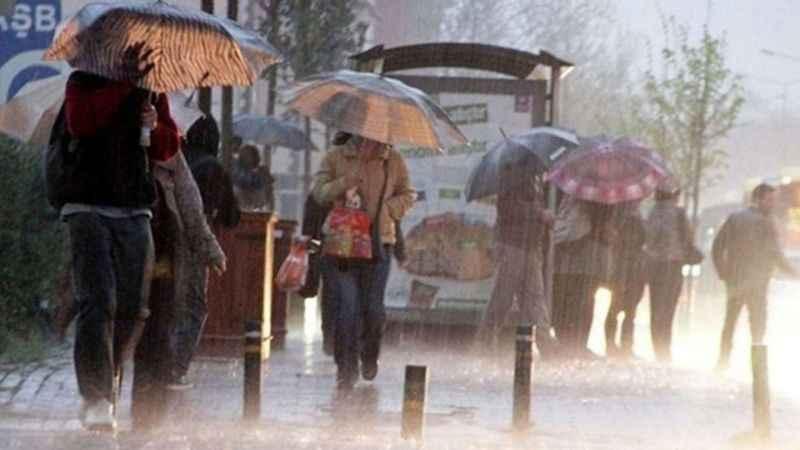 Trabzon hava durumu! Meteoroloji'den Trabzon'a sağanak uyarısı