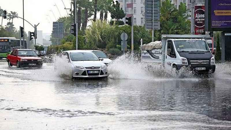 Adana hava durumu! Adana'ya sağanak uyarısı geldi (15 Ocak)