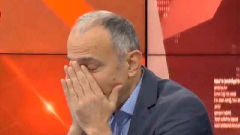 Emin Çapa, canlı yayında ölen kedisi için ağladı!