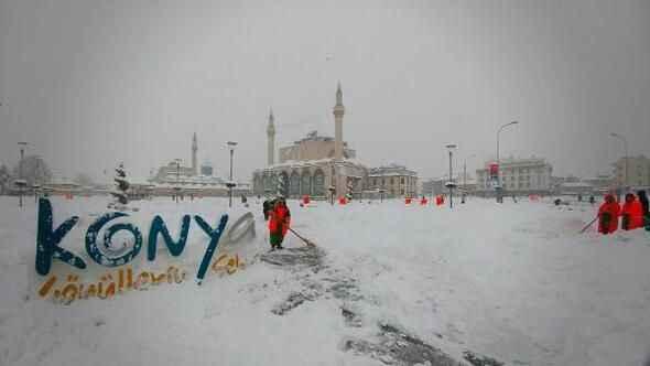 Konya hava durumu! Konya'da kar yağacak mı? (15 Ocak)