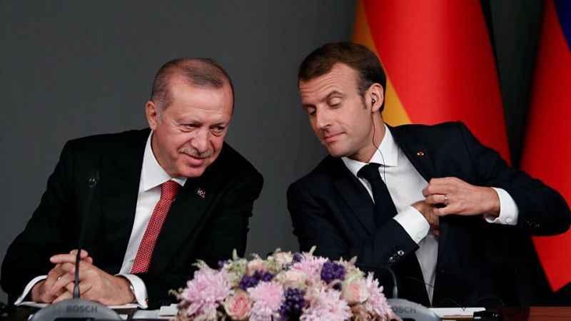 Macron'dan Erdoğan'a mektup! Değerli Tayyip!