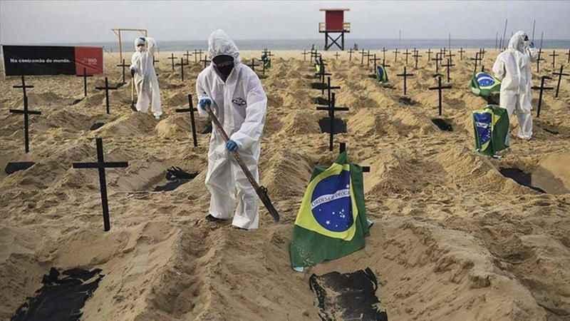 Latin Amerika ülkelerinde salgına bağlı can kayıpları artıyor