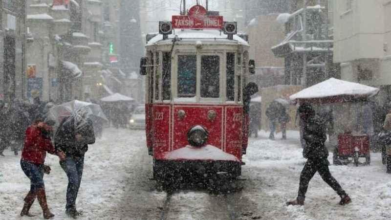 İstanbul hava durumu! İstanbul'a tekrar kar uyarısı yapıldı (19 Ocak)
