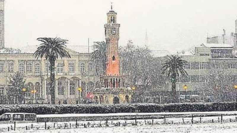 İzmir hava durumu! İzmir'de bugün kar var mı? (20 Ocak)