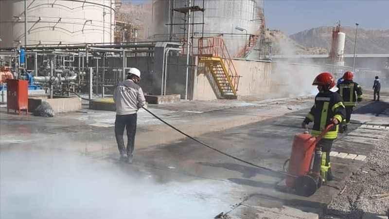 Son dakika: Petrokimya tesisinde patlama!