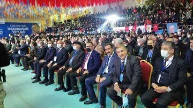 AKP Kongrelerinde maske ve sosyal mesafe hiçe sayıldı!