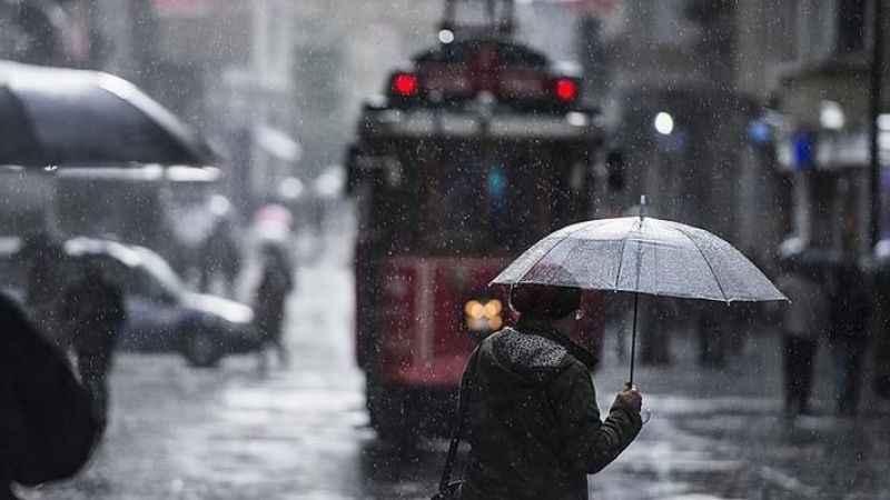 İstanbul hava durumu! Meteoroloji'den İstanbul'a uyarı (25 Ocak)