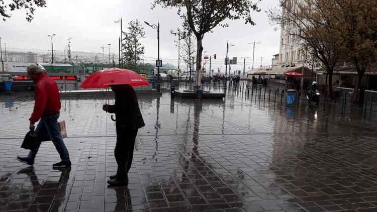 İstanbul hava durumu! İstanbul'a sağanak yağış uyarısı (26 Ocak)