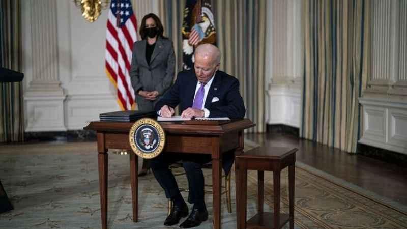 Biden'den, ırkçılık karşıtı 4 kararnameye imza!