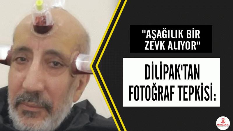 """Abdurrahman Dilipak'tan fotoğraf tepkisi: """"Aşağılık bir zevk alıyor"""""""