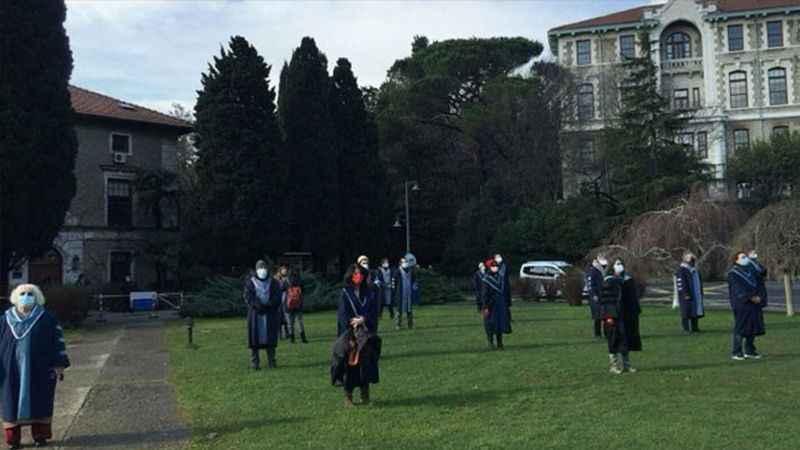 Boğaziçi Üniversitesi'nde protestolar sürüyor!