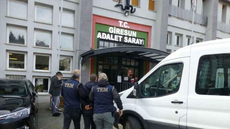 Giresun'da FETÖ soruşturması! Eski binbaşı gözaltına alındı
