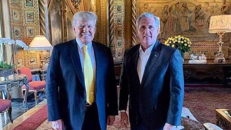Trump yeniden siyasete mi dönüyor? Cumhuriyetçiler'den süpriz ziyaret!