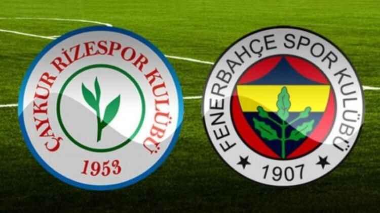 Fenerbahçe, Çaykur Rizespor'u konuk ediyor! İşte, muhtemel 11'ler