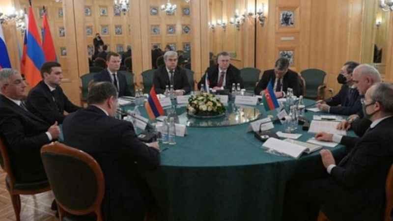 Dağlık Karabağ üçlü çalışma grubu Moskova'da toplandı