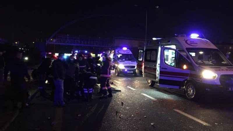 Ankara-İstanbul yolunda zincirleme kaza: Ölü ve yaralılar var