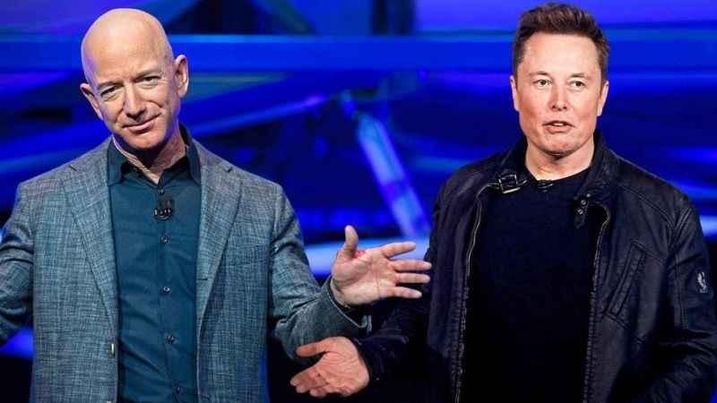 Jeff Bezos neden istifa etti! İstifanın arkasında Elon Musk'ın payı!