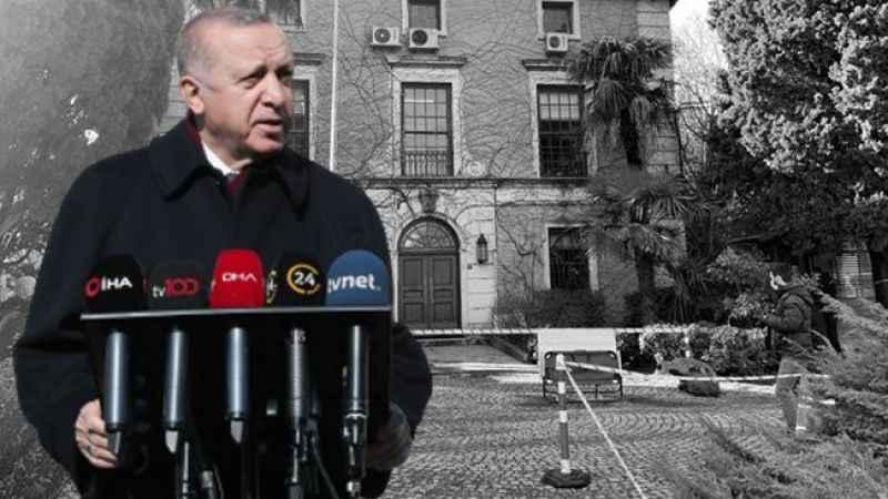 """Erdoğan """"terörist"""" nitelediği öğrencilere bugün """"öğrencilerimiz"""" dedi"""