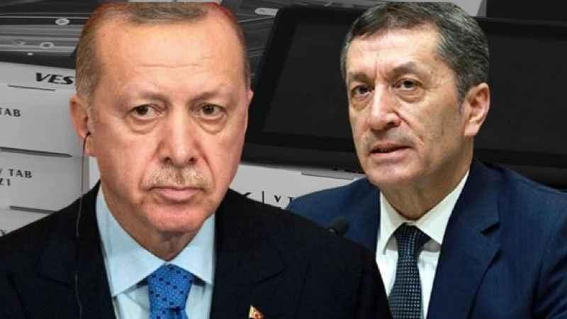 Erdoğan'ın '2 milyon tablet dağıttık' sözlerini Bakan Selçuk yalanladı