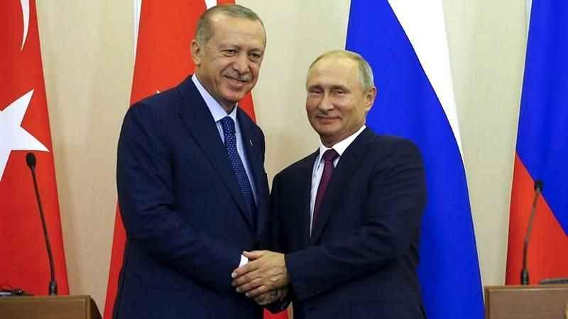 Cumhurbaşkanı Erdoğan, Vladimir Putin ile telefonda görüştü