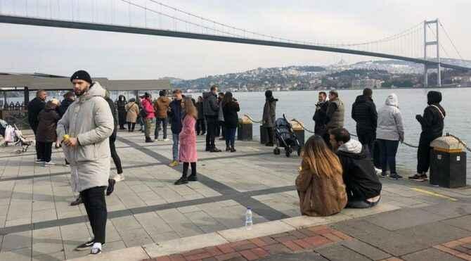 """İstanbul'da sokağa çıkma kısıtlaması! """"Kayınvalidemi gezdiriyorum"""""""