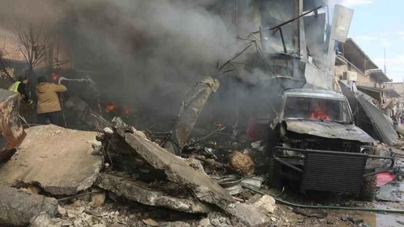 Azez'de bombalı araç saldırısı! 6 kişi yaralandı